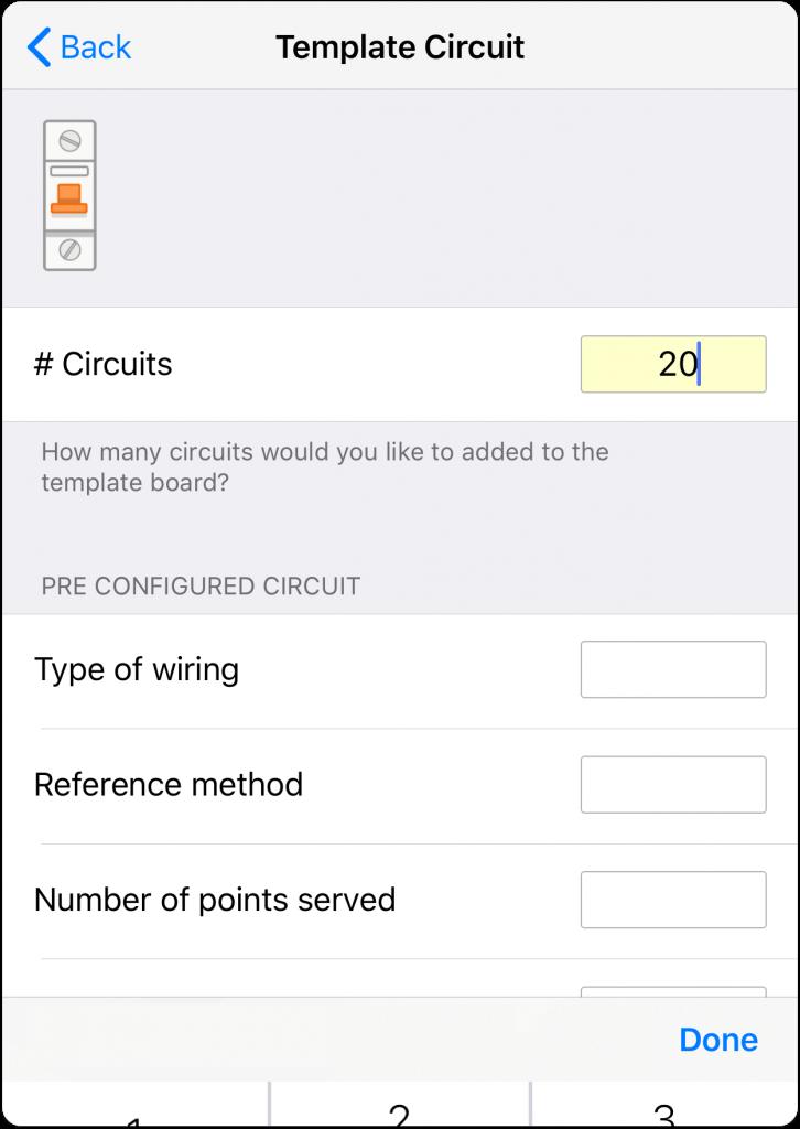 Pre configured Circuit