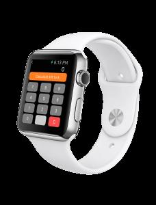 Electricians calculator on Apple Watch