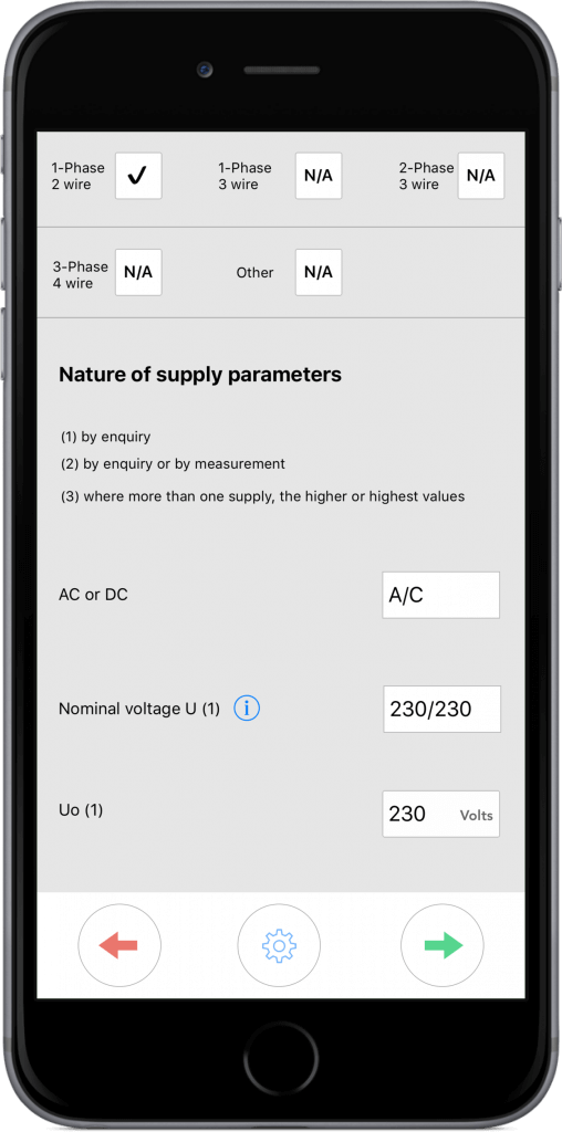 Nature of supply paremters