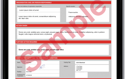 iCertifi 6.0 Out Now With New Electrical Danger Notice